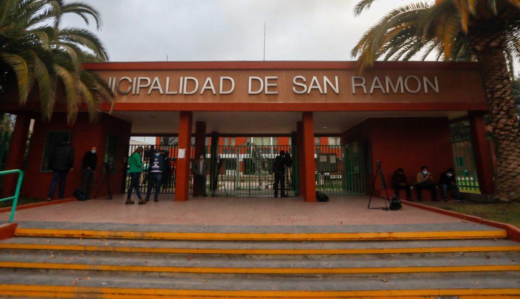 PDI Llega A Municipalidad De San Ramón