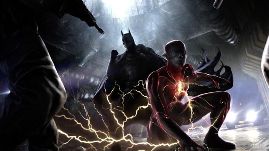 The Flash Arte Conceptual Flash 2 Batman