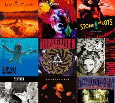 10 álbumes Clásicos Del Grunge (2)