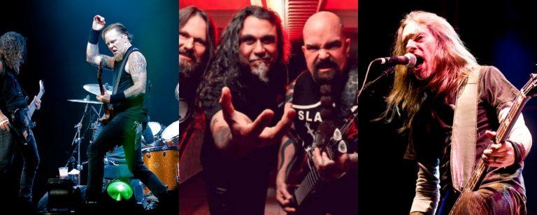 Madre metalera: Metallica-Slayer-Pantera