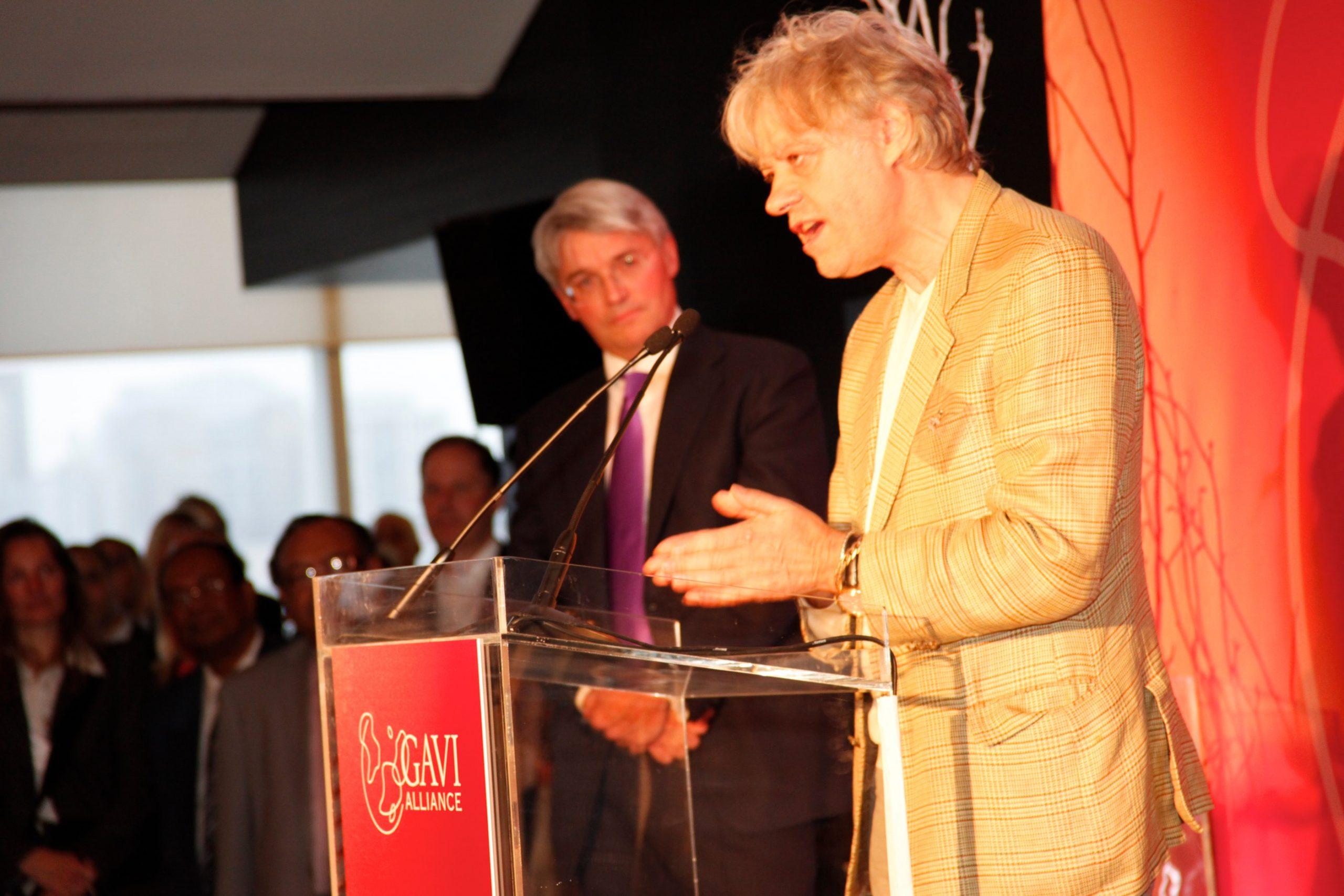 Bob Geldof en 2011