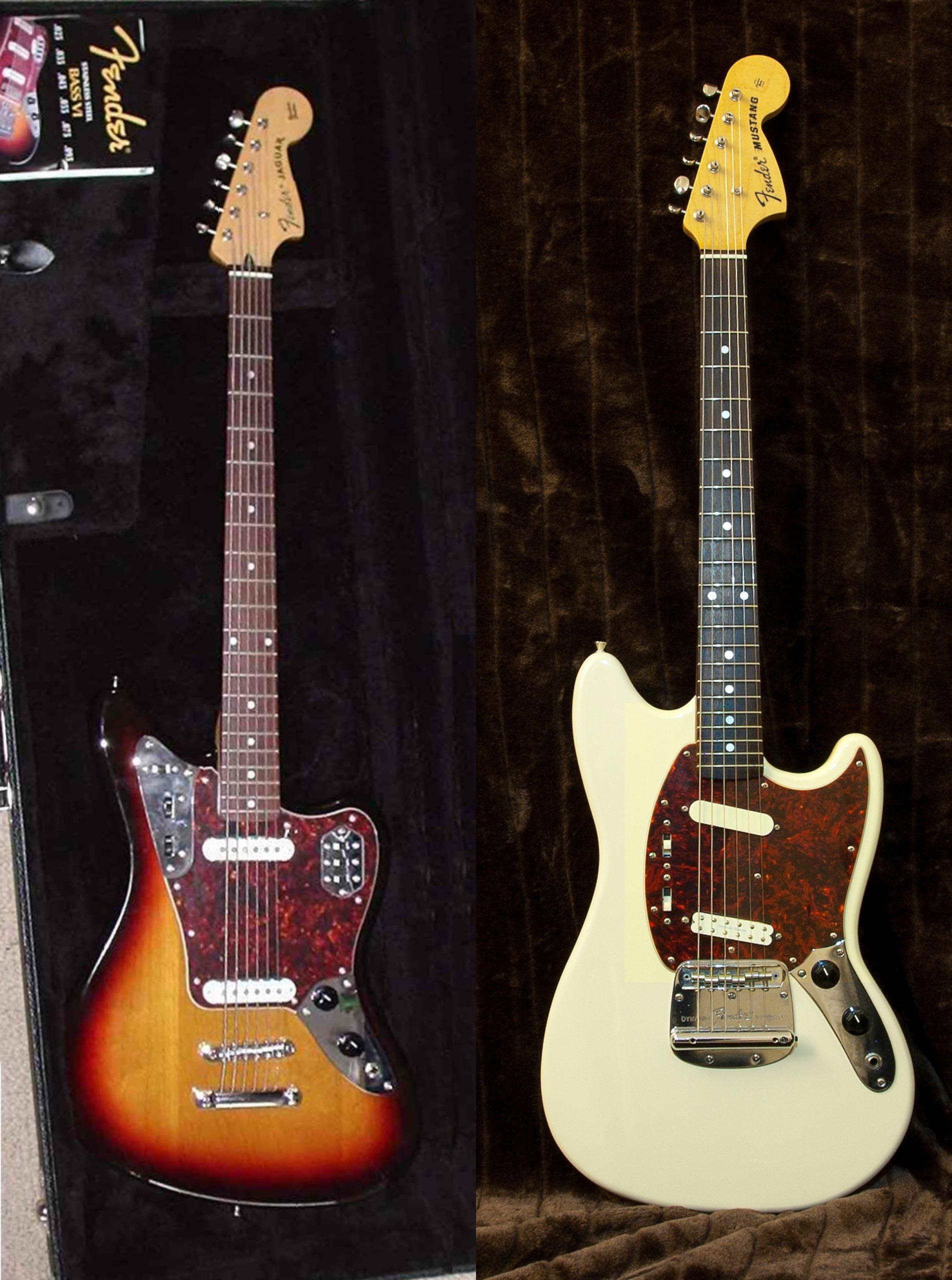 Guitarras Jaguar Y Mustang