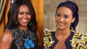 Michelle Obama Y Demi Lovato 19th Cumbre Representantes
