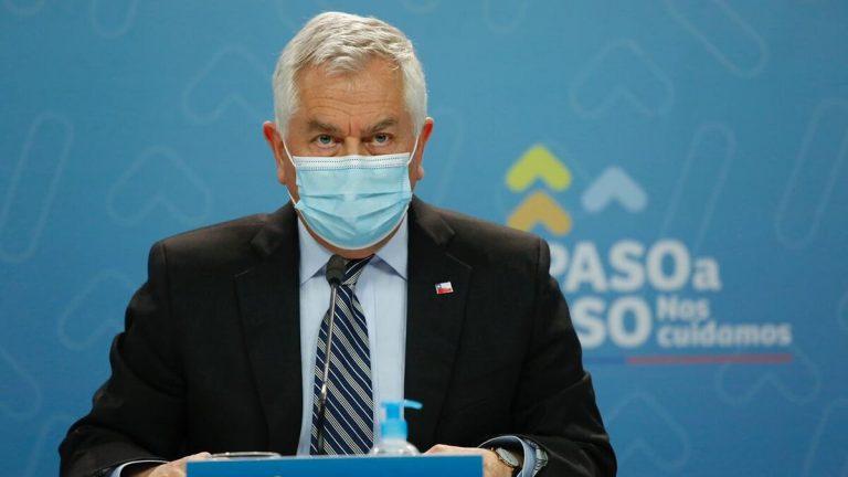 Ministro Paris Critica Cierre De Vacunatorios