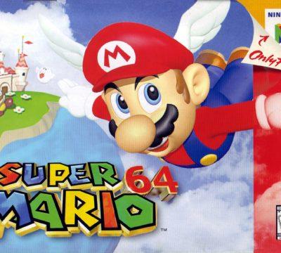 Super Mario 64 Videojuego Nintendo 64