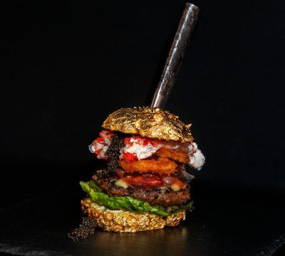 La hamburguesa más cara del mundo: The Golden Boy
