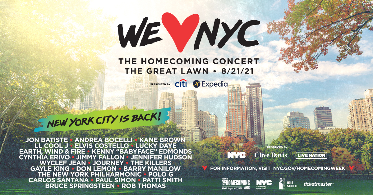 We Love NYC: Homecoming Concert
