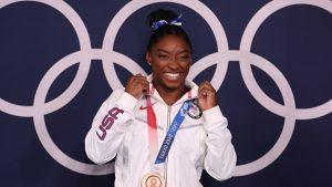 Simone Biles medalla