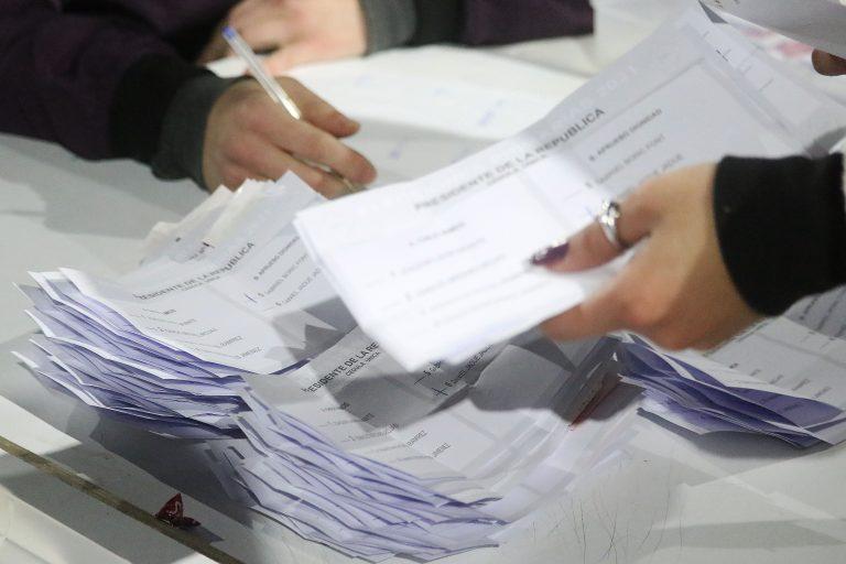 Elecciones Presidenciales papeleta