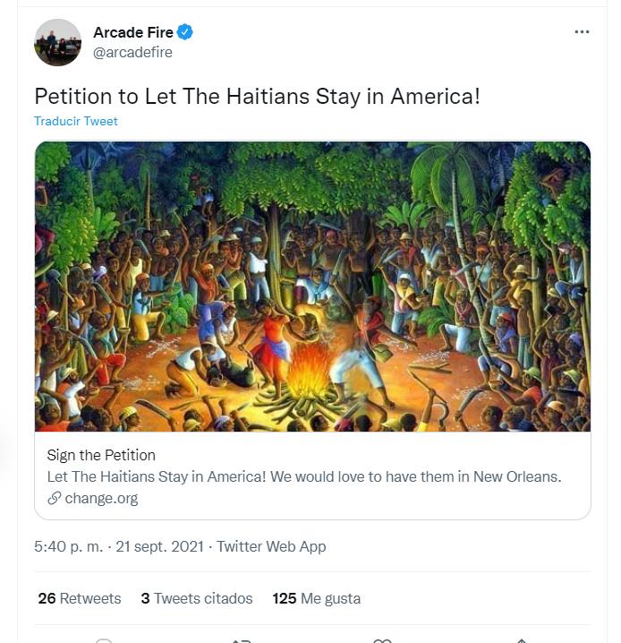 Arcade Fire Vía Twitter
