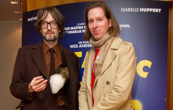 Jarvis Cocker And Wes Anderson Attend The Fantastic MrFox Paris Premiere At Cinema L Arlequin On February 11, 2010 In Paris, France Picture Richard Bord WireImage