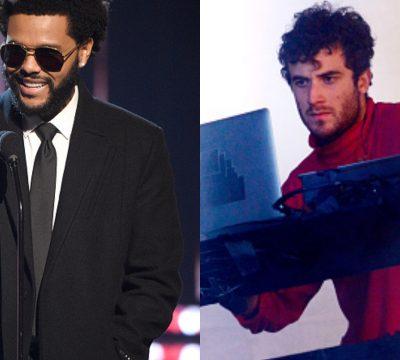 The Weeknd Nicolas Jaar