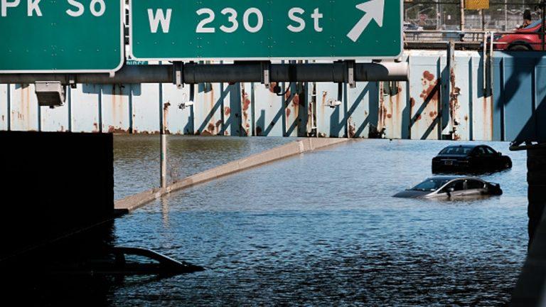 New York inundación