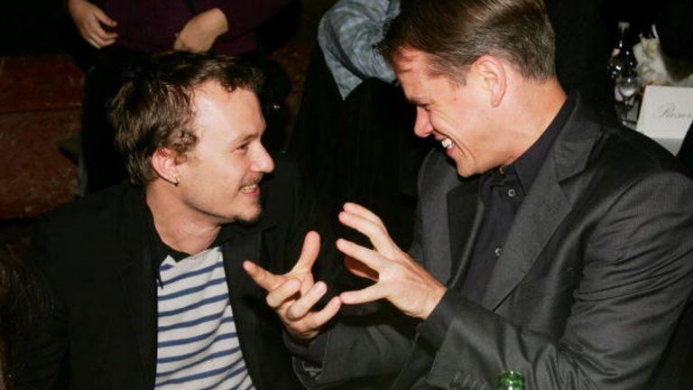 Matt Damon Heath Ledger