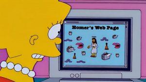 Los Simpsons Internet (1)