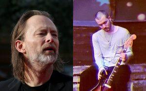 radiohead hijo de thom yorke estrena cancion parecida igualita a radiohead a una de album repertorio lista de disco nuevo sencillo single jonny greenwood vocalista guitarrista