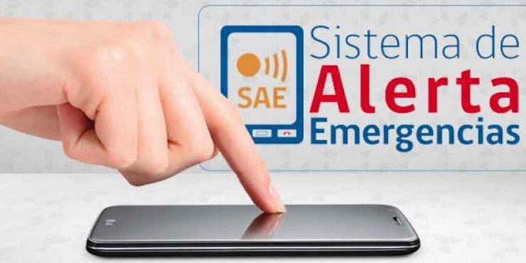 alerta de emergencia onemi oficina nacional de emergencias ministerio del interior gobierno tsunami evacuacion evacuar celular telefono alarma