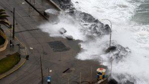marejadas costas del pais de chile mar crecida regiones playas armada de chile alerta aviso de