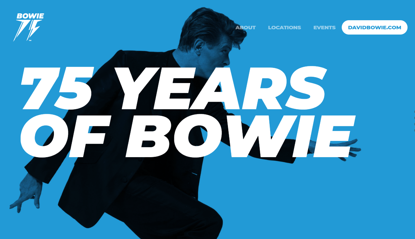 75 YEARS OF BOWIE