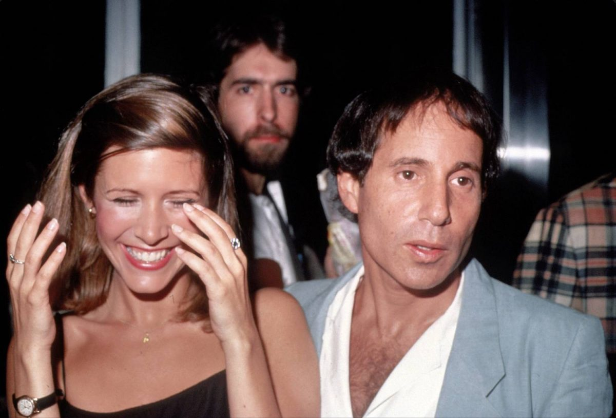 Carrie Fisher And Paul Simon 1 1200x814