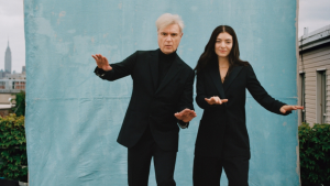 Lorde + David Byrne Photograph by Shaniqwa Jarvis for Rolling Stone