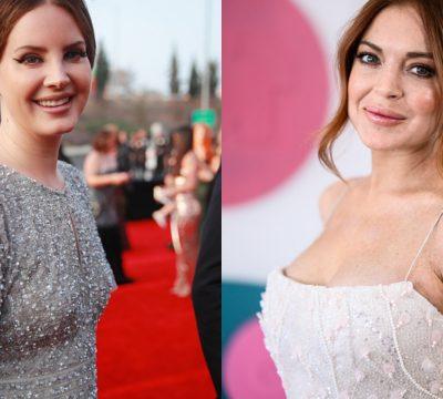 Lana Del Rey Lindsay Lohan