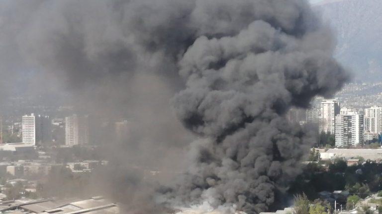 incendio en Macul