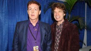Paul McCartney The Rolling Stones