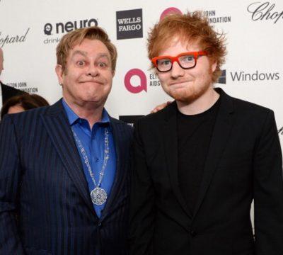 Ed Sheeran y Elton John