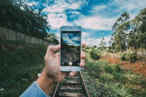 smartphone naturaleza