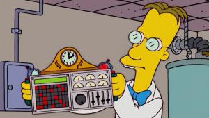 Los Simpsons Ciencia