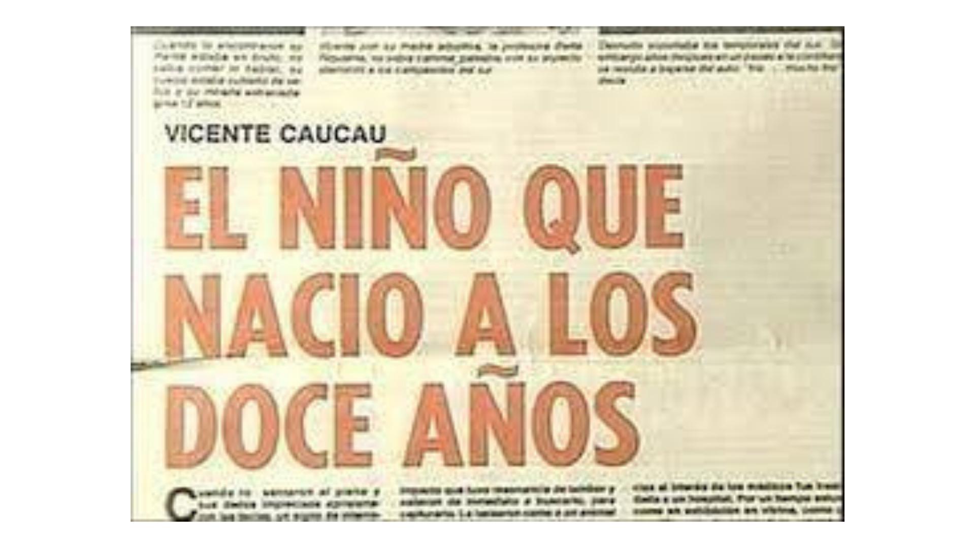Vicente Caucau A